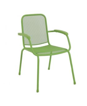 MWH Lopo Stacking Chair Green