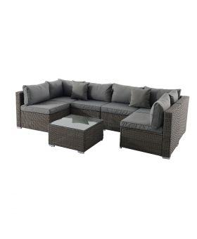 Creador 6 Seater Modular Rattan Sofa Set *Pre order available 30.07.21