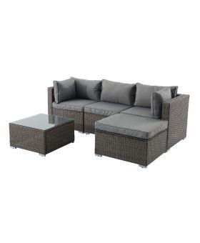 Creador 3-4 Seater Rattan Sofa Set *Pre order available 30.07.21