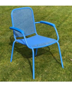 MWH Lopo Stacking Chair Blue