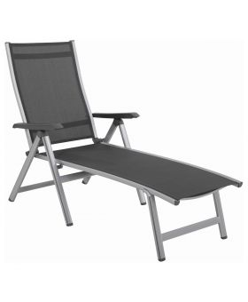 MWH Elements Sun Lounger - Silver