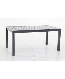 CREADOR Aluminium Table Vital 150cm Anthracite