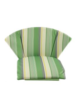 Royal Garden Elegance Cushion Pack of 2 - Green