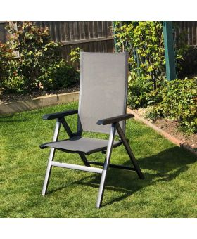 MWH Elements Anthracite Folding Chair x1
