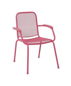 MWH Lopo Stacking Chair Pink