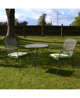 Royal Garden Classic 2 Seater Steel Bistro Set