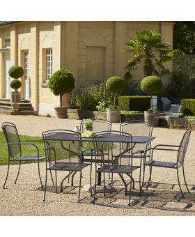 Royal Garden Classic 6 Seater Rectangular Set