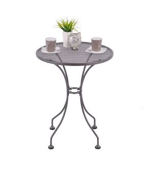 Royal Garden Caffeo 60cm Steel Round Table