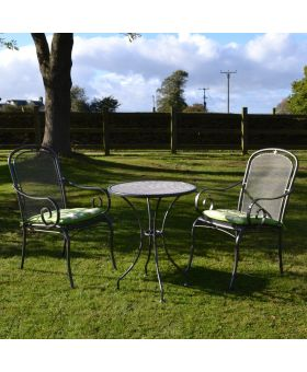 Royal Garden Caraneo 2 Seater Steel Bistro Set