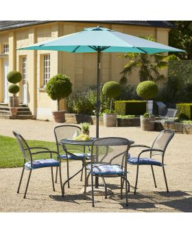Royal Garden Carlo 4 Seater 1.05m Round Set