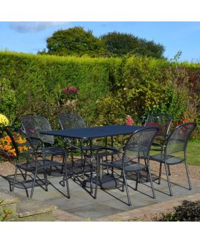 Royal Garden Carlo 6 Seater Rectangular Set