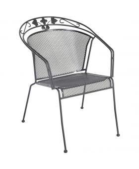 Royal Garden Elegance Stacking Chair Pack of 4