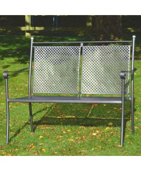 Royal Garden Excelsior Steel Bench