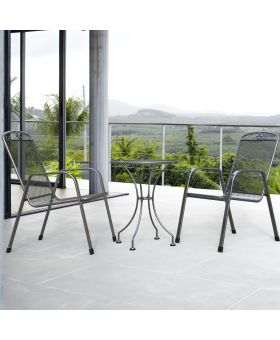 Royal Garden Savoy 2 Seater Steel Bistro Set
