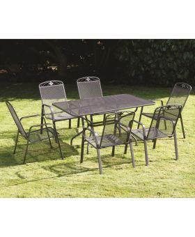 Royal Garden Savoy 6 Seater Rectangular Set