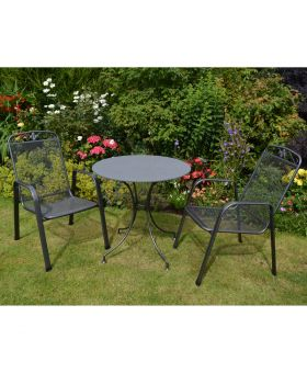 Royal Garden Savoy 2 Seater Creatop Bistro Set