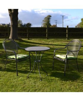Royal Garden Talcy 2 Seater Steel Bistro Set
