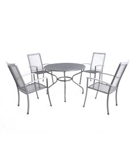 Royal Garden Balero Highback 4 Seater 1.05m Round Set