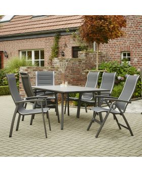 Royal Garden Kensington 4 Seater HPL Rectangular Set