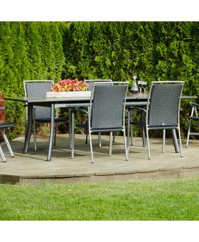 Royal Garden Sena 4 Seater 1.8m Rectangular Set