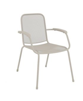 MWH Lopo Stacking Chair White
