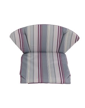 Royal Garden Elegance Cushion Pack of 2 - Purple