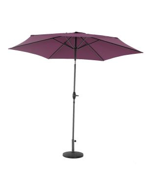2.5m Alu/Steel Parasol - Purple