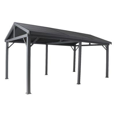 Creador Aluminium 5.3 x 3.2 Apex Roof Slat Gazebo