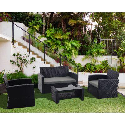 Creador 4 Seater Rattan Sofa Set