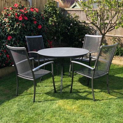 Royal Garden Balero Highback 4 Seater Creatop Set