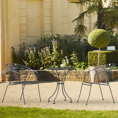 Royal Garden Elegance 2 Seater Steel Bistro Set