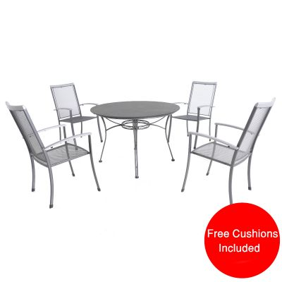 Royal Garden Balero 4 Seater Creatop Set