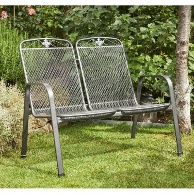 Royal Garden Savoy Steel Bench